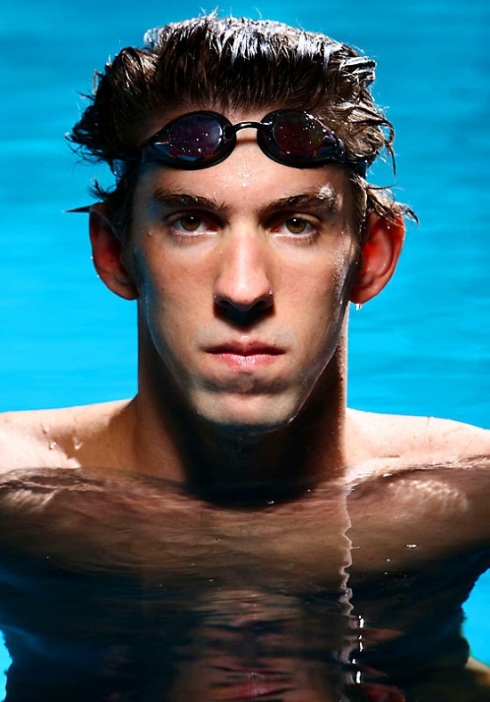 Michael Phelps hot body and an amazing swimmer